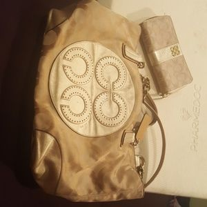 Authentic Coach Wallet and purse.